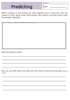 Generic Reading Comprehension Worksheets