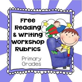 Generic Reading, Writing Workshop Rubrics, Printable PDF's