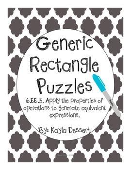 Generic Rectangle Puzzles