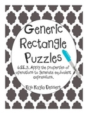 Generic Rectangle Puzzles
