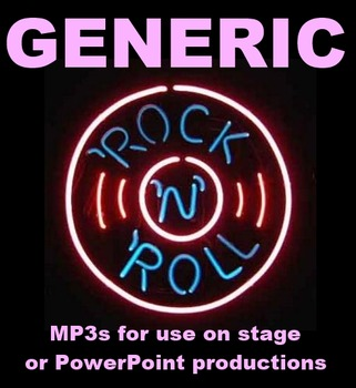Generic Rock and Roll Mp3s for Stage or PowerPoints
