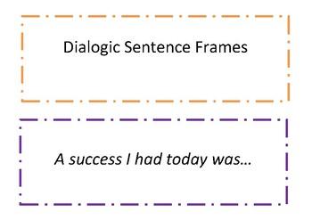 Generic Sentence Frames