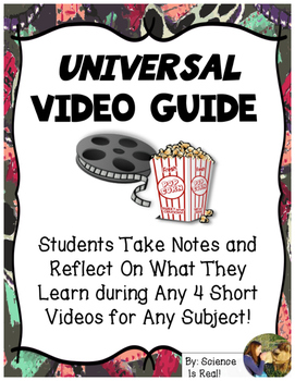 FREE Universal Video Guide for 4 Short Videos With Summary - ANY Subject