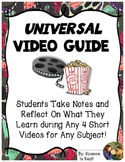 FREE Universal Video Guide for 4 Short Videos With Summary