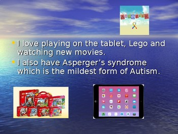Generic social story supporting children with Aspergers (can personalise)