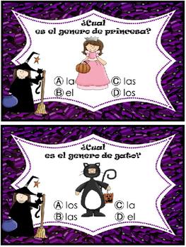 Genero de sustantivos