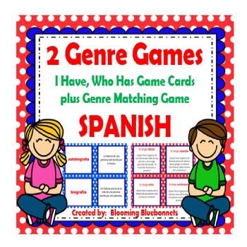 Géneros Literarios BUNDLE - SPANISH Literary Genre BUNDLE