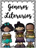 Géneros literarios-Spanish-Genres Posters