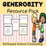 Generosity Activities- 3 Activities