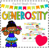 Generosity Google Slides eBook & Activities - Distance/Digital Learning