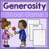 Generosity Scoot Game For Character Education Lessons
