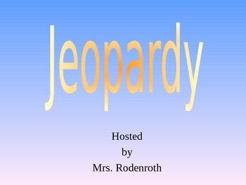 Genes Jeopardy Review