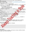 Genes and Chromosome Video Worksheet and Student Made 3D Model