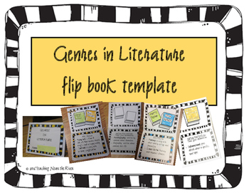 Genres in Reading Flip Book