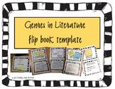 Genres in Reading Flip Book