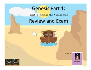 Genesis 1 - Review and Exam (Creation, Adam and Eve, Cain and Abel)