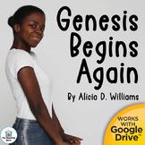 Genesis Begins Again Novel Study Book Unit