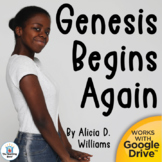 Genesis Begins Again Novel Study Book Unit