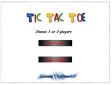 Genesis Interactive Tic Tac Toe game