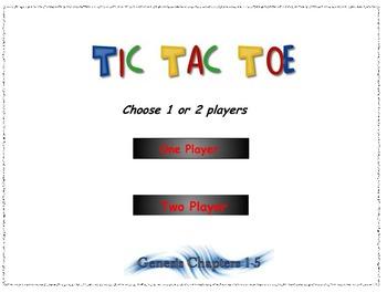Genesis Interactive Tic Tac Toe game