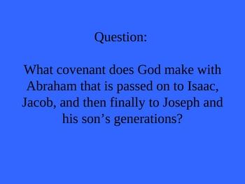Genesis Jeopardy