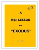 "A Mini-Lesson of ""Exodus"" with Teacher's Answer Key"