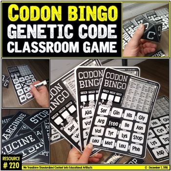 Genetic Code: Codon Bingo