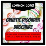 Genetic Disorder Brochure Activity Project & Grading Rubric