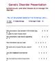 Genetic Disorder Presentation Rubric (WORD)