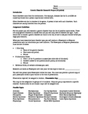 Genetic Disorder Research Project Packet