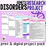 Genetic Disorders Project - PDF & Digital Versions
