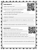 Genetic Disorders QR Code Scavenger Hunt