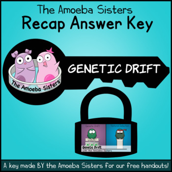 Genetic Drift Recap Answer Key by The Amoeba Sisters (ANSWER KEY)