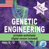 Genetic Engineering (worksheets)