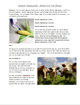 Genetic Engineering Research Project
