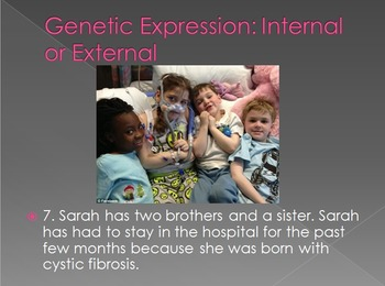 Genetic Expression Task Cards or Quest Power Point