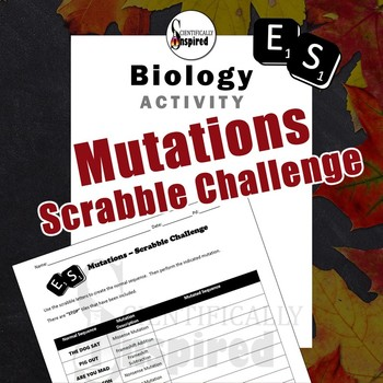 Genetic Mutations - Scrabble Challenge