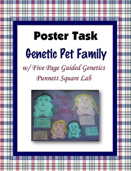 Genetic Pet Family Task; Genetic Traits, Heredity and Punnett Squares (Project)