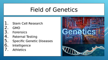 Genetic Research Presentation Project Slides