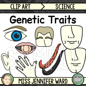 Genetic Traits Clip Art