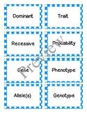 Genetic Vocab Cards