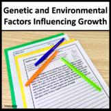 Genetic and Environmental Factors Influencing Growth