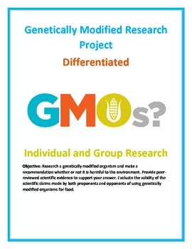 Genetically Modified Food Science Research Project and Unit