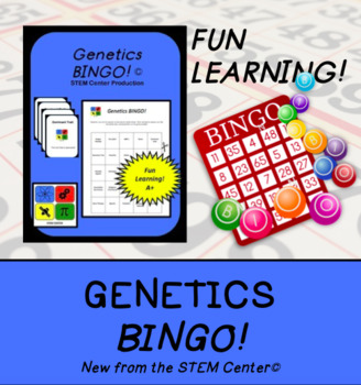 Genetics Bingo Game