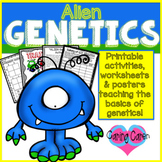 Genetics Basics: Alien Themed