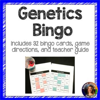Genetics Bingo