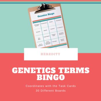 Genetics Bingo Boards