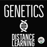 Genetics Bundle:  Distance Learning for Middle School