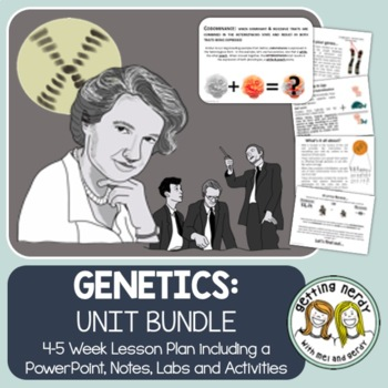 Genetics & Heredity - PowerPoint & Handouts Unit