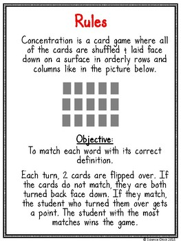 Genetics Concentration Game
